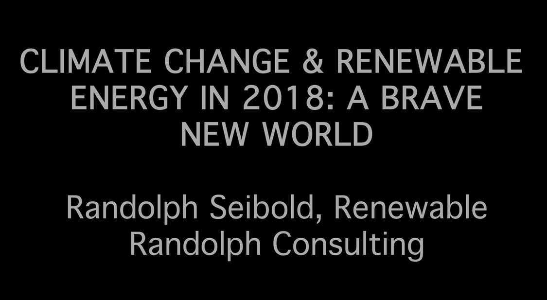 Randolph Seibold Renewable Randolph Consulting photo