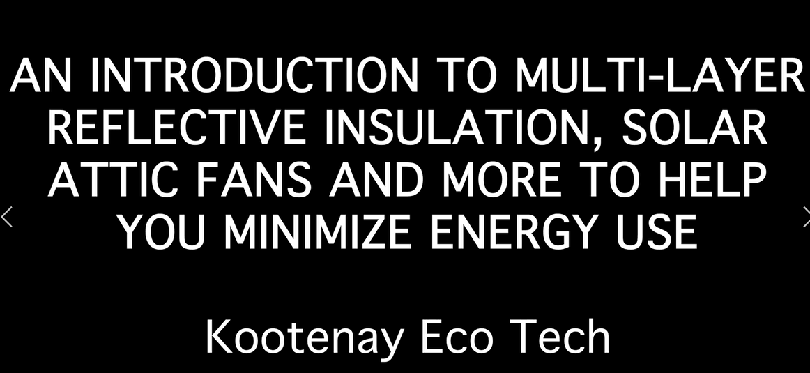 Kootenay Eco Tech