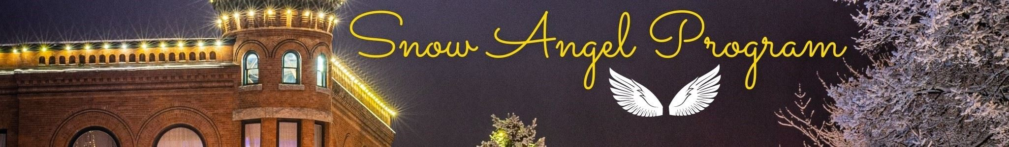 Snow Angel Website Banner